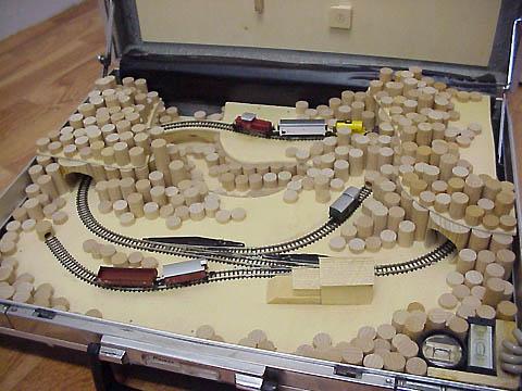 modelleisenbahn im koffer spur z