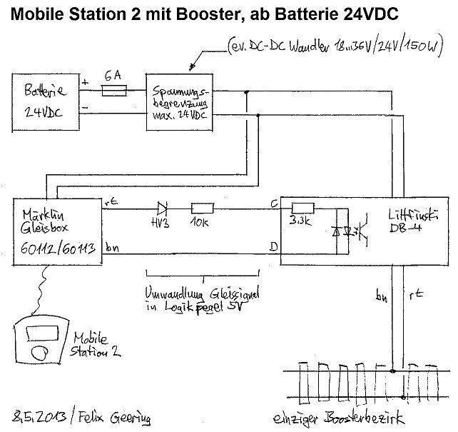 Booster für Märklin Mobile Station - Stummis Modellbahnforum